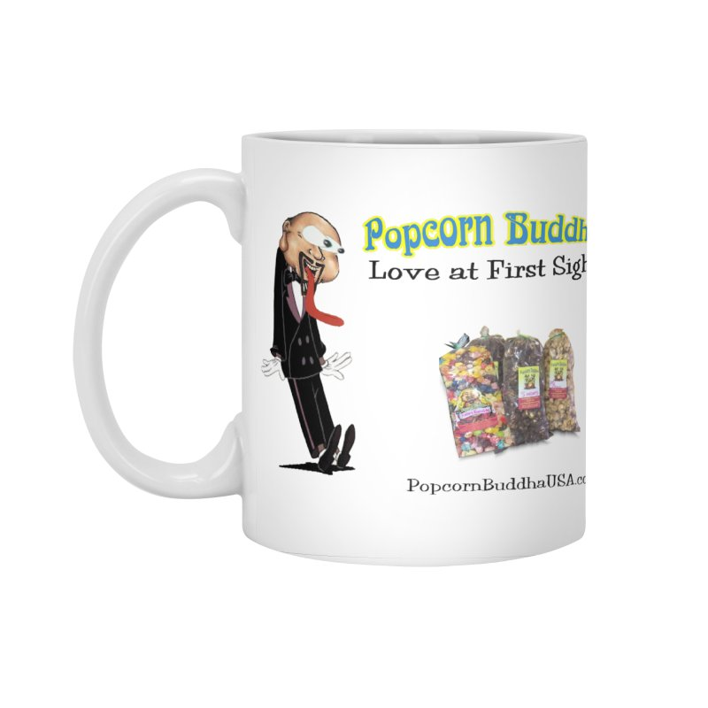 Love at First Sight Accessories Standard Mug by Popcorn Buddha Merchandise