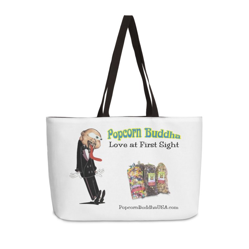 Love at First Sight Accessories Weekender Bag Bag by Popcorn Buddha Merchandise