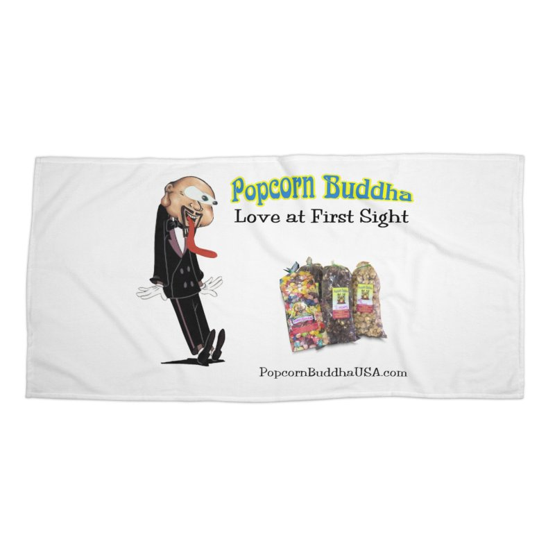 Love at First Sight Accessories Beach Towel by Popcorn Buddha Merchandise