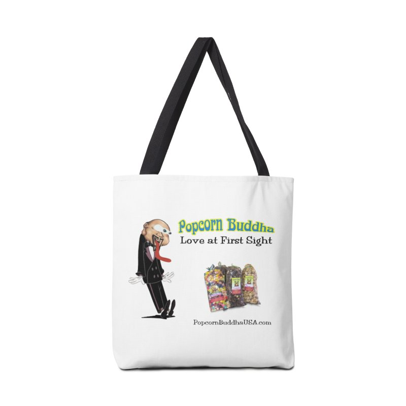 Love at First Sight Accessories Tote Bag Bag by Popcorn Buddha Merchandise