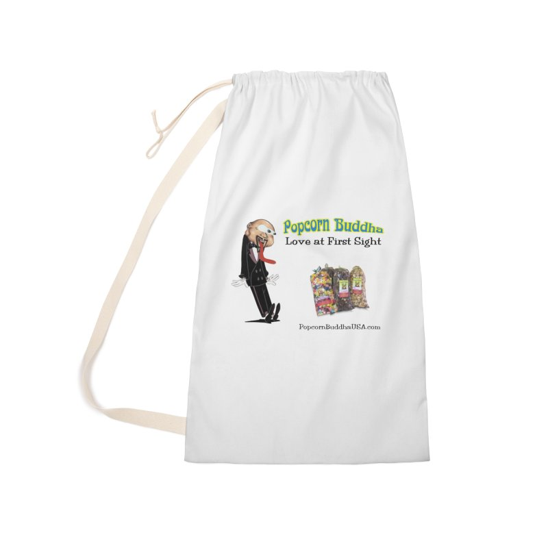 Love at First Sight Accessories Laundry Bag Bag by Popcorn Buddha Merchandise