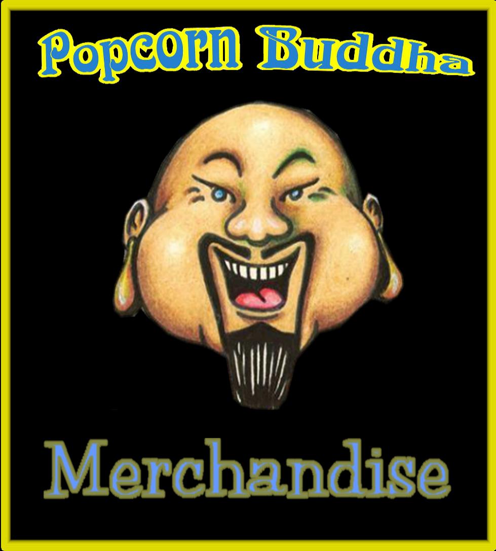 Popcorn Buddha Merchandise Logo