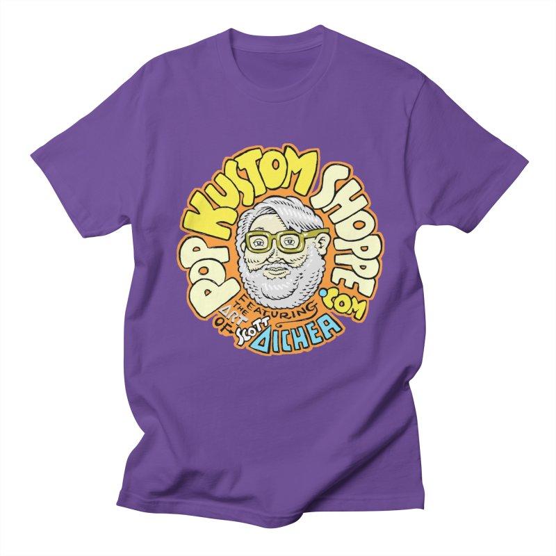 Pop Kustom Shoppe Logo Women's Regular Unisex T-Shirt by Popkustomshoppe Artist Shop