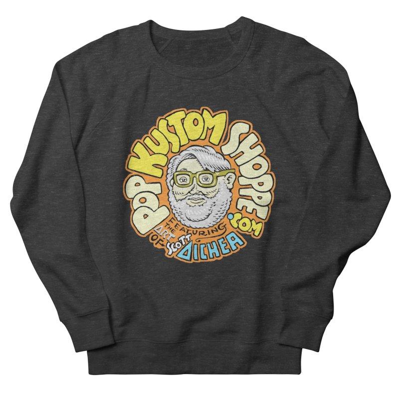 Pop Kustom Shoppe Logo Women's French Terry Sweatshirt by Popkustomshoppe Artist Shop