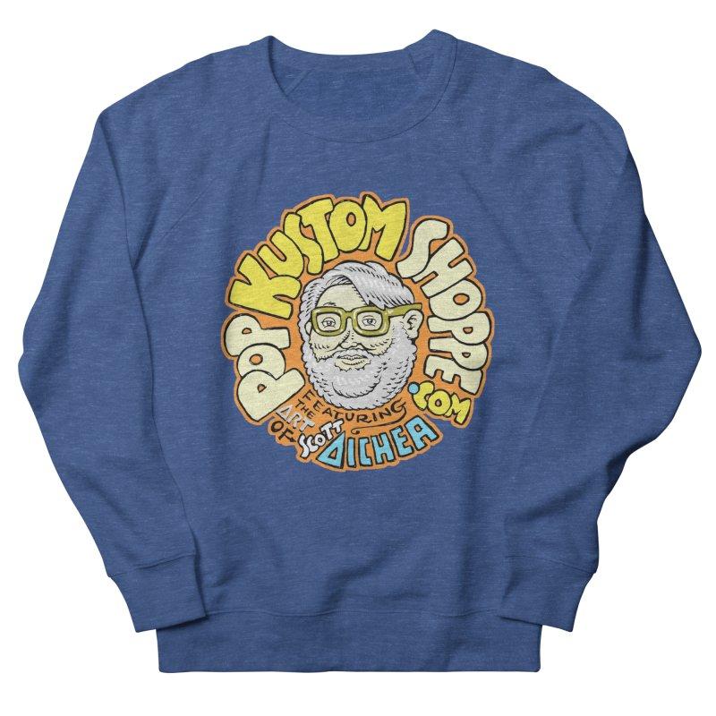 Pop Kustom Shoppe Logo Men's French Terry Sweatshirt by Popkustomshoppe Artist Shop