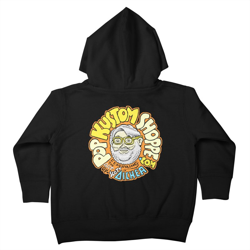 Pop Kustom Shoppe Logo Kids Toddler Zip-Up Hoody by Popkustomshoppe Artist Shop