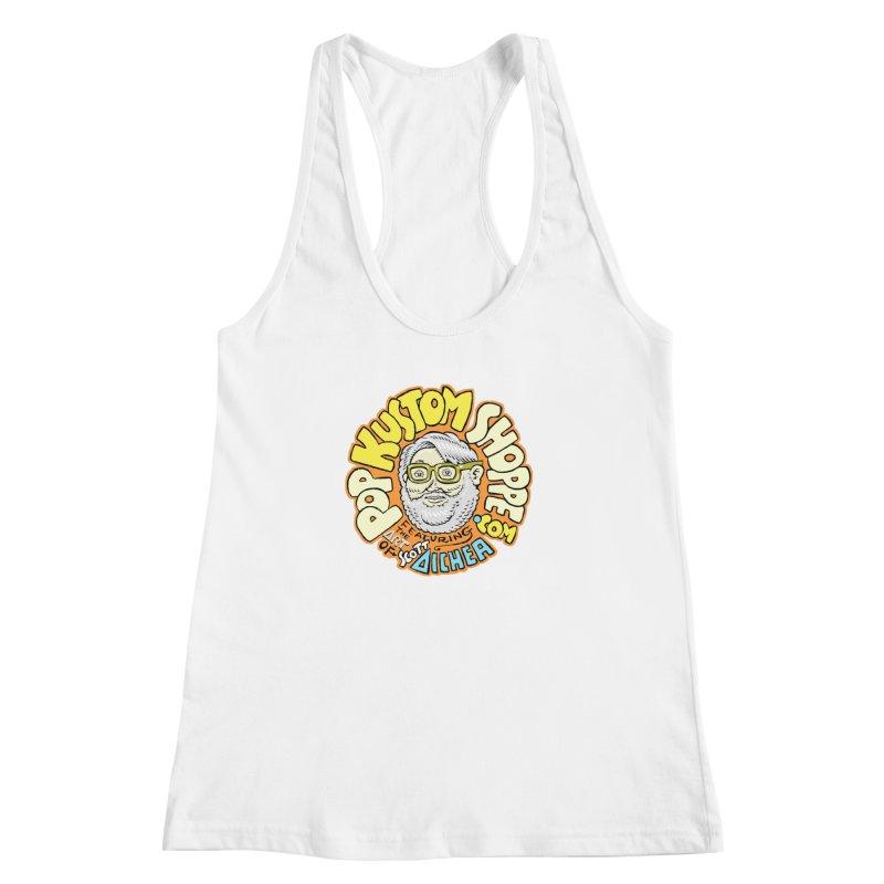 Pop Kustom Shoppe Logo Women's Racerback Tank by Popkustomshoppe Artist Shop