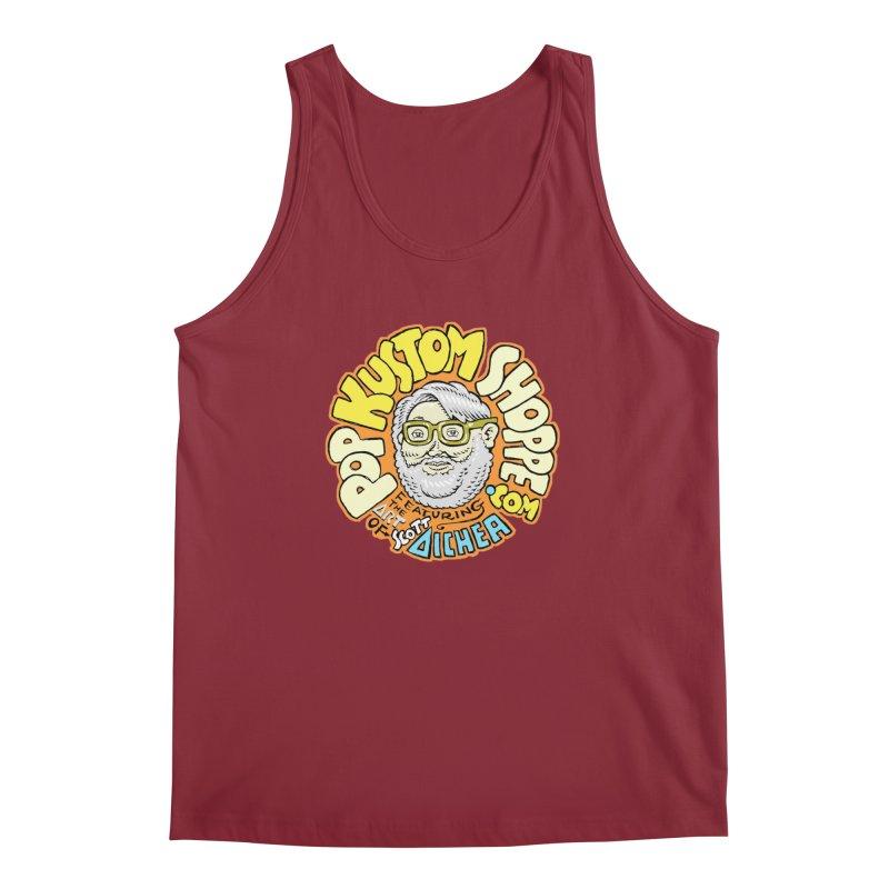 Pop Kustom Shoppe Logo Men's Regular Tank by Popkustomshoppe Artist Shop