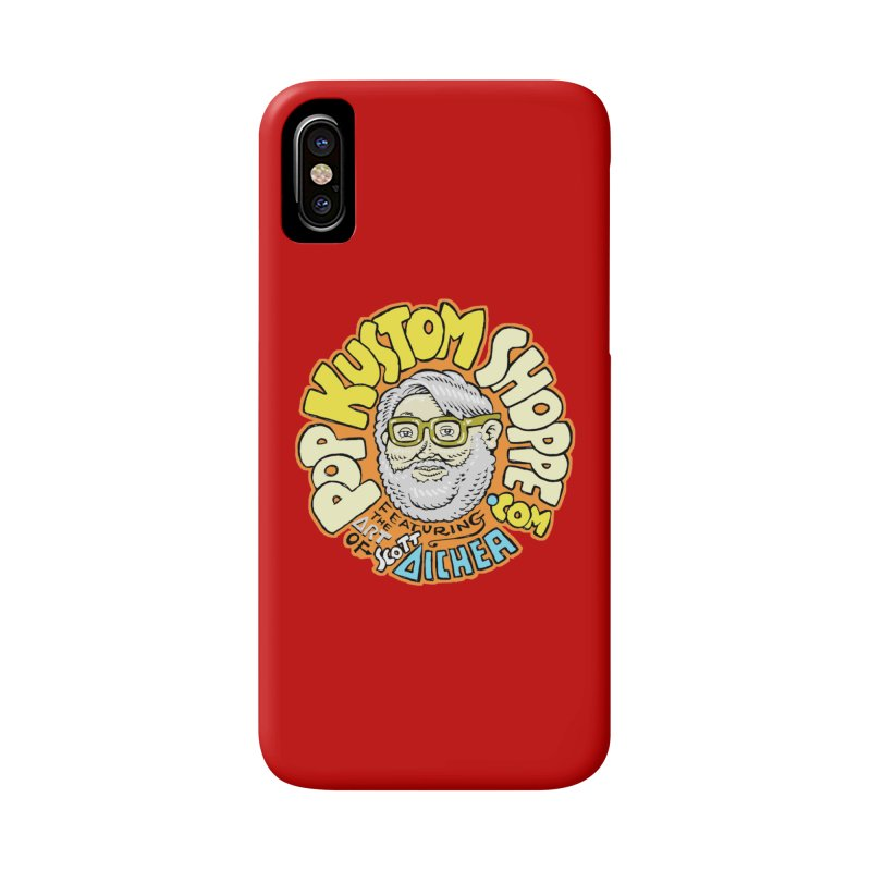 Pop Kustom Shoppe Logo Accessories Phone Case by Popkustomshoppe Artist Shop