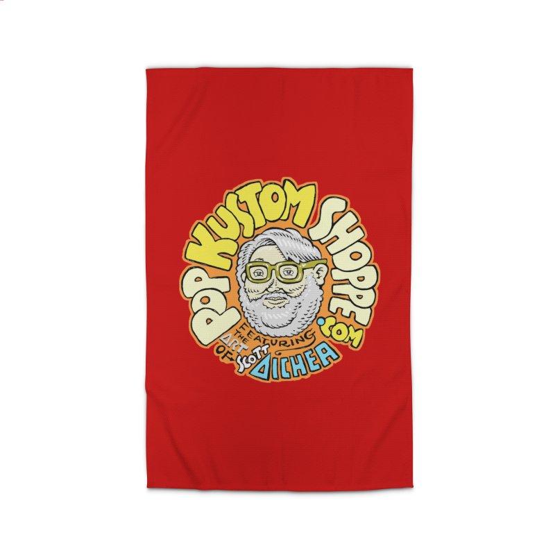 Pop Kustom Shoppe Logo Home Rug by Popkustomshoppe Artist Shop