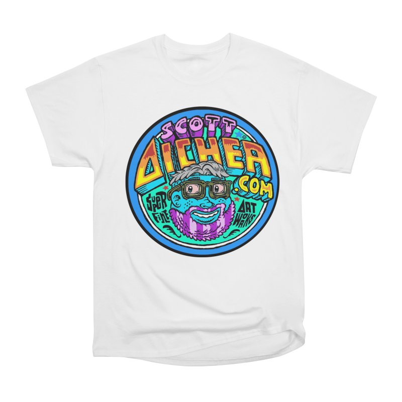 Moppy Aicher Women's Heavyweight Unisex T-Shirt by Popkustomshoppe Artist Shop
