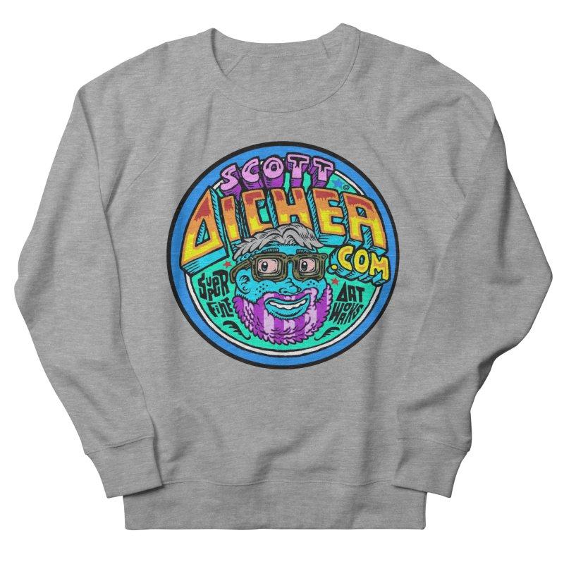 Moppy Aicher Women's French Terry Sweatshirt by Popkustomshoppe Artist Shop