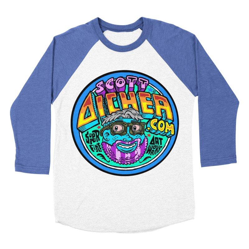 Moppy Aicher Women's Baseball Triblend Longsleeve T-Shirt by Popkustomshoppe Artist Shop