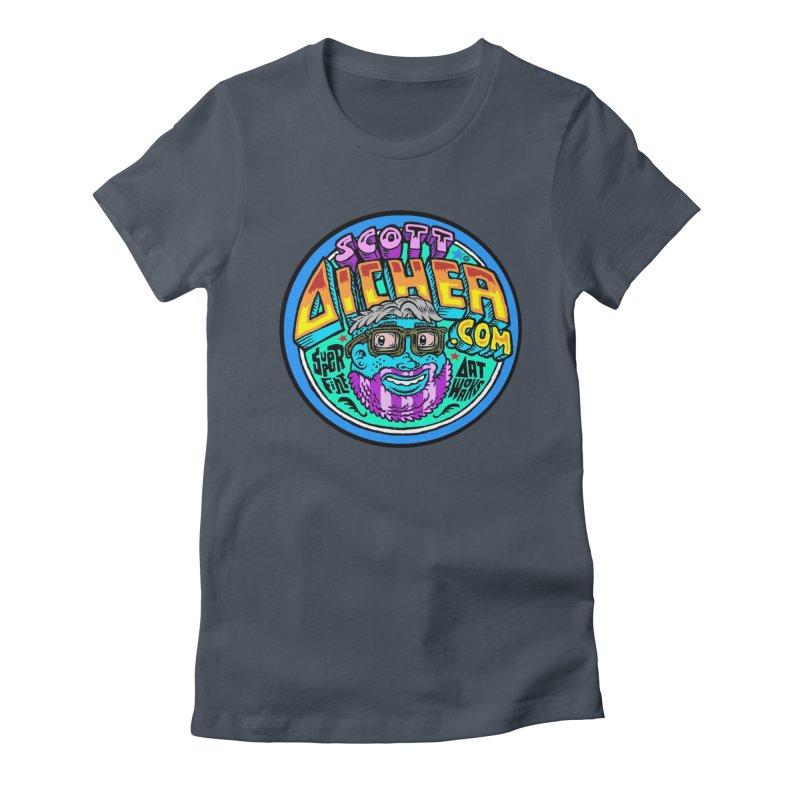 Moppy Aicher Women's T-Shirt by Popkustomshoppe Artist Shop
