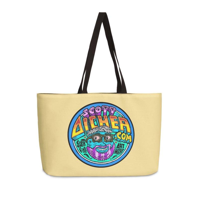 Moppy Aicher Accessories Weekender Bag Bag by Popkustomshoppe Artist Shop
