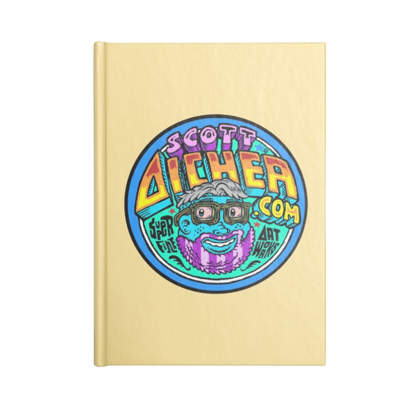 Moppy Aicher Accessories Notebook by Popkustomshoppe Artist Shop
