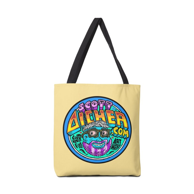 Moppy Aicher Accessories Tote Bag Bag by Popkustomshoppe Artist Shop