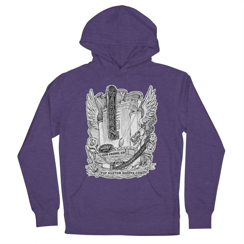 Warner Grand Theater by Aicher Women's French Terry Pullover Hoody by Popkustomshoppe Artist Shop