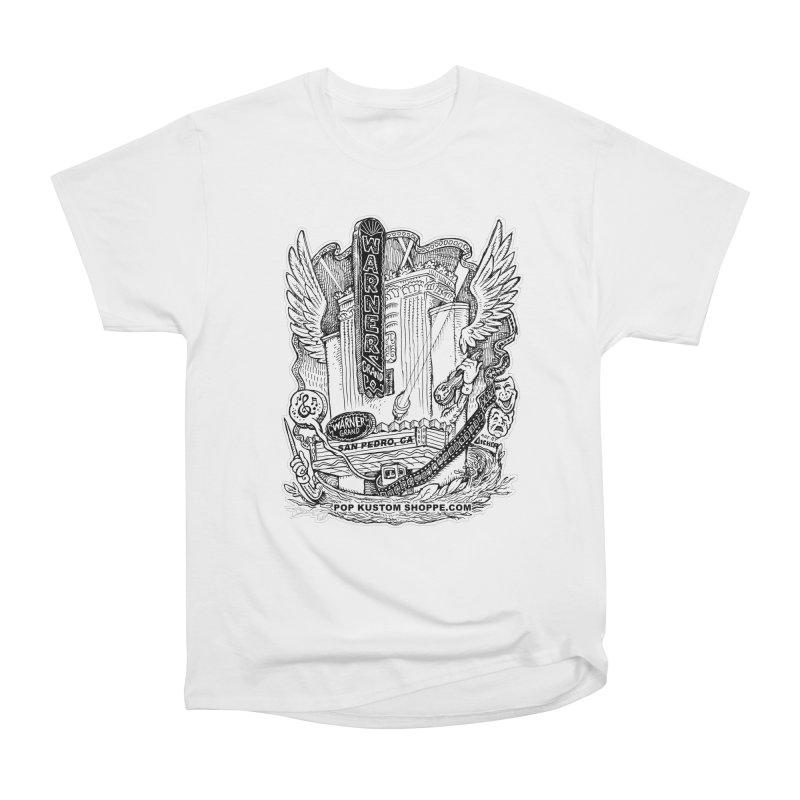 Warner Grand Theater by Aicher Women's Heavyweight Unisex T-Shirt by Popkustomshoppe Artist Shop
