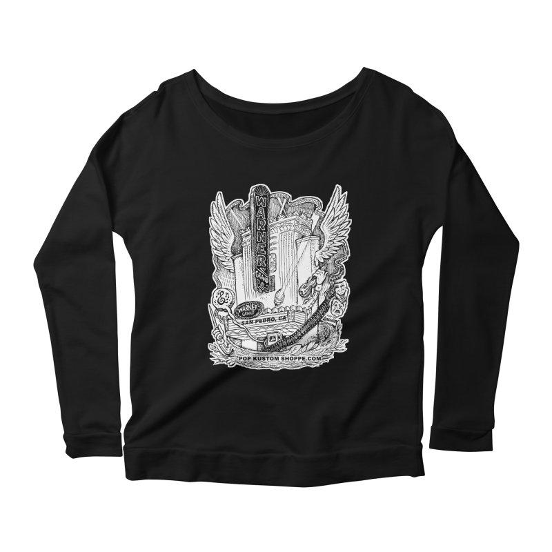 Warner Grand Theater by Aicher Women's Scoop Neck Longsleeve T-Shirt by Popkustomshoppe Artist Shop