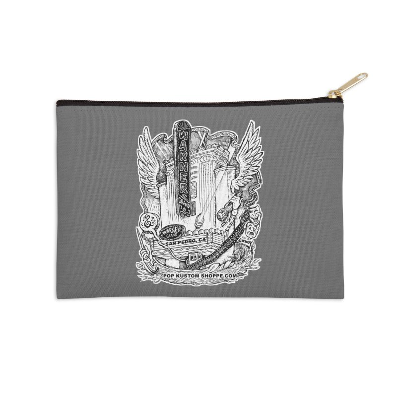 Warner Grand Theater by Aicher Accessories Zip Pouch by Popkustomshoppe Artist Shop