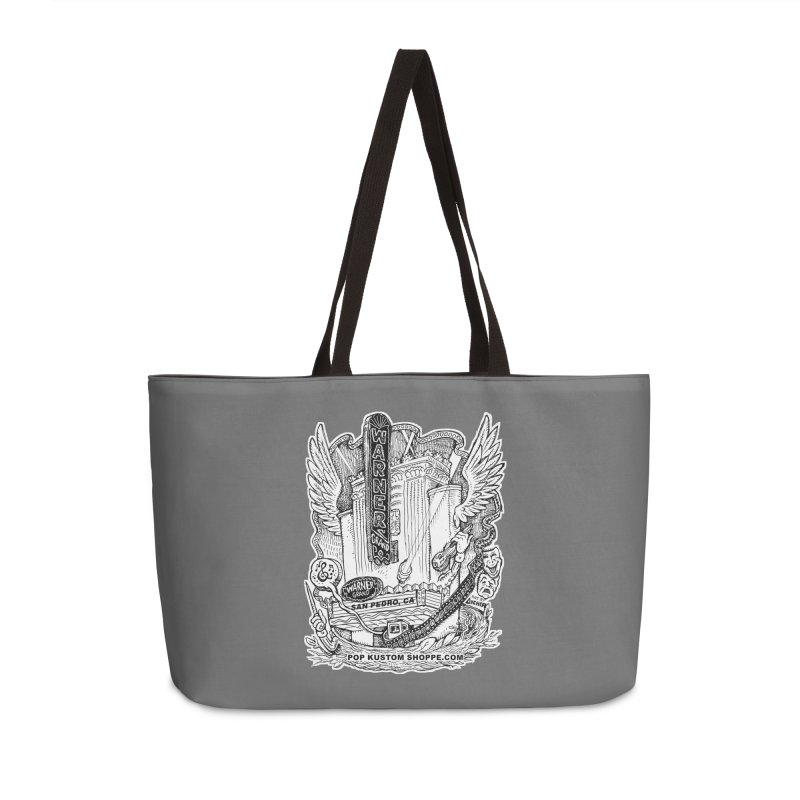 Warner Grand Theater by Aicher Accessories Weekender Bag Bag by Popkustomshoppe Artist Shop