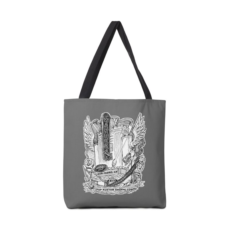 Warner Grand Theater by Aicher Accessories Tote Bag Bag by Popkustomshoppe Artist Shop