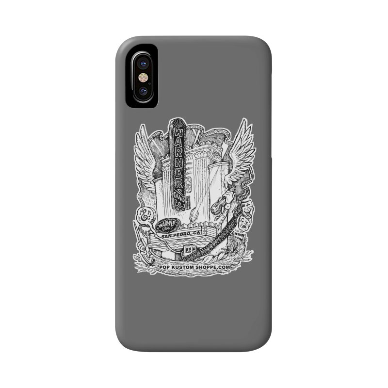 Warner Grand Theater by Aicher Accessories Phone Case by Popkustomshoppe Artist Shop
