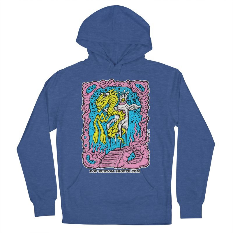 Aicher King Dragon Women's Pullover Hoody by Popkustomshoppe Artist Shop