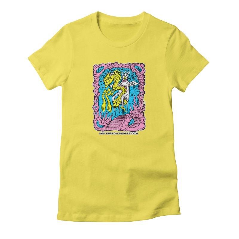 Aicher King Dragon Women's T-Shirt by Popkustomshoppe Artist Shop