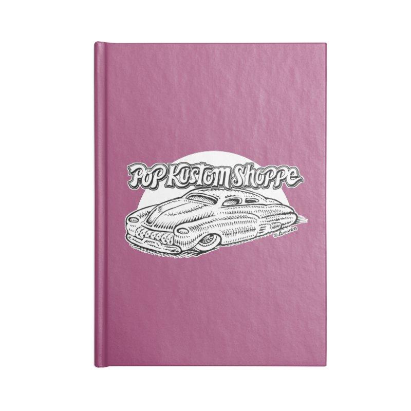 Aichermerc Accessories Notebook by Popkustomshoppe Artist Shop