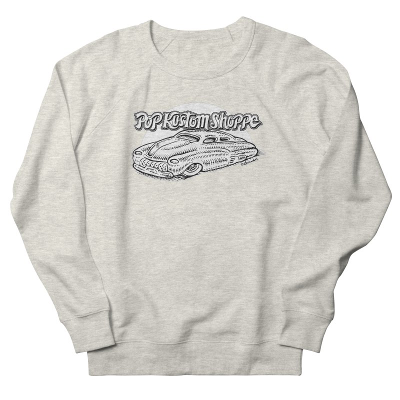 Aichermerc Women's French Terry Sweatshirt by Popkustomshoppe Artist Shop