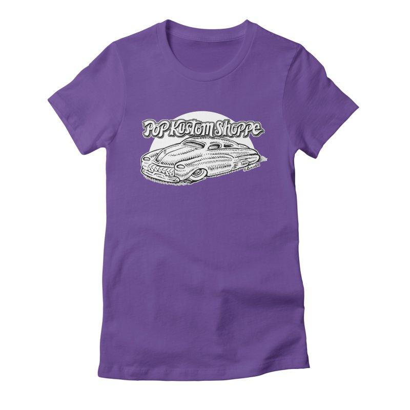 Aichermerc Women's Fitted T-Shirt by Popkustomshoppe Artist Shop