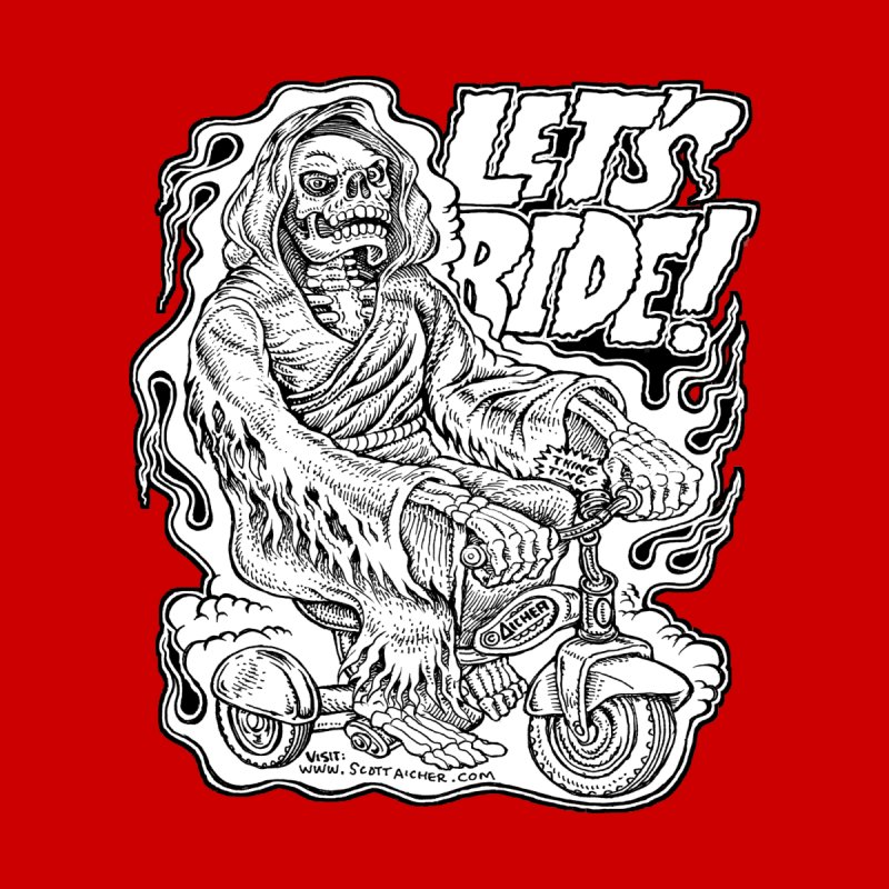 Let's Ride! by Aicher   by Popkustomshoppe Artist Shop