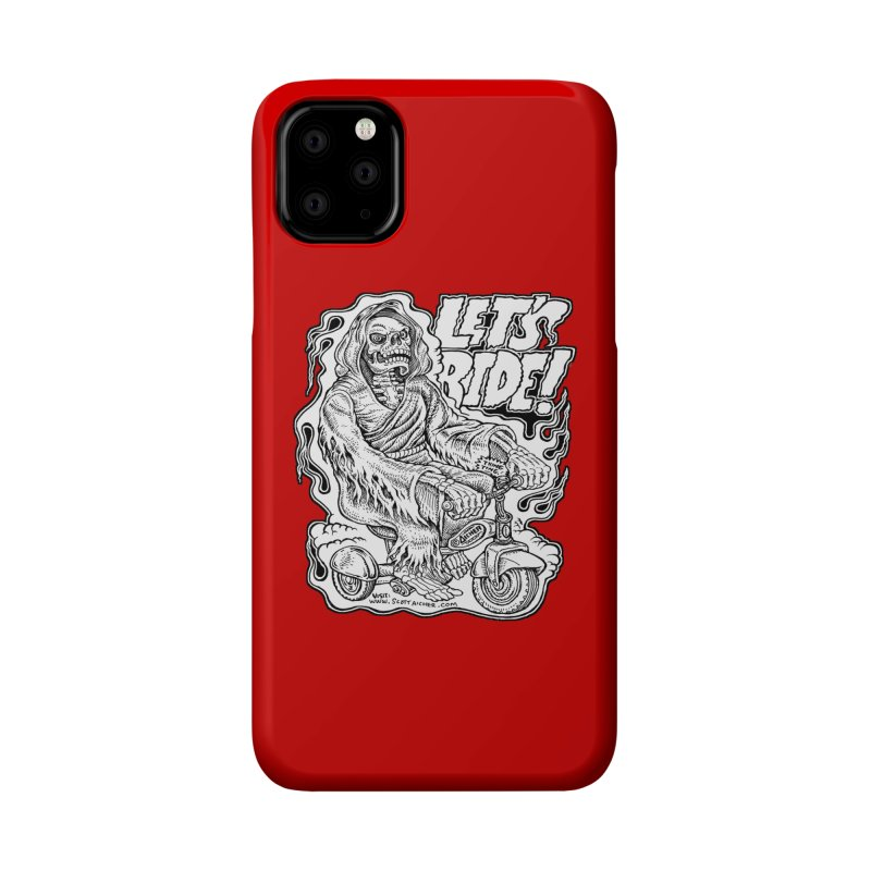 Let's Ride! by Aicher Accessories Phone Case by Popkustomshoppe Artist Shop