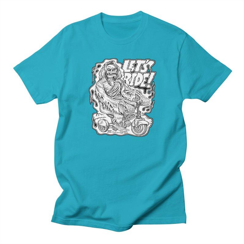 Let's Ride! by Aicher Women's Regular Unisex T-Shirt by Popkustomshoppe Artist Shop