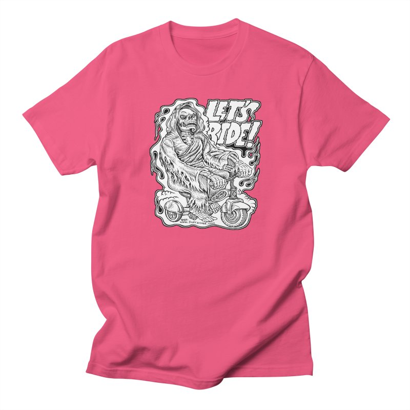 Let's Ride! by Aicher Women's Regular Unisex T-Shirt by Popkustomshoppe Artist Shop