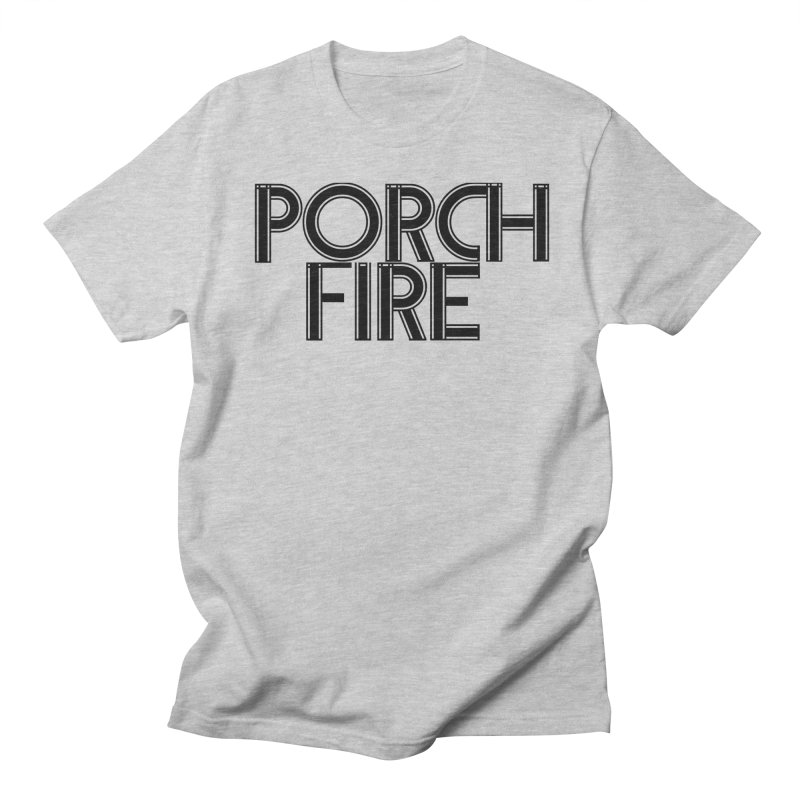 Classic Font Shirt Men's Regular T-Shirt by Porchfire's Artist Shop