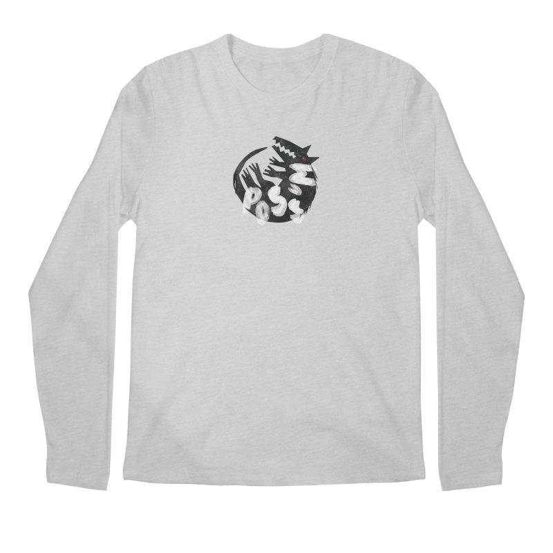 Possum by Kate Burns  Men's Regular Longsleeve T-Shirt by Possum's Artist Shop