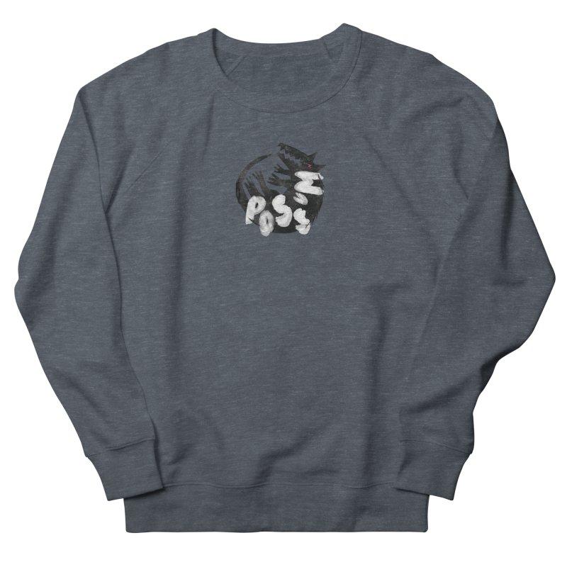 Possum by Kate Burns  Men's French Terry Sweatshirt by Possum's Artist Shop