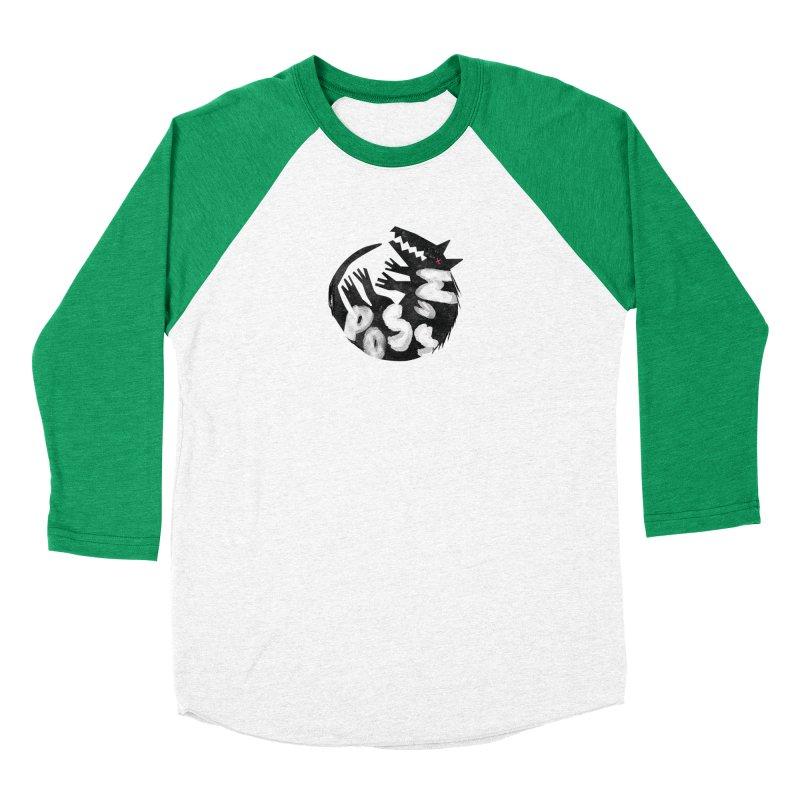 Possum by Kate Burns  Men's Baseball Triblend Longsleeve T-Shirt by Possum's Artist Shop