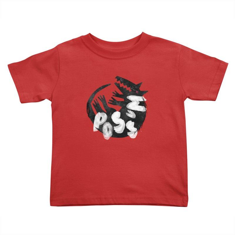Possum by Kate Burns  Kids Toddler T-Shirt by Possum's Artist Shop