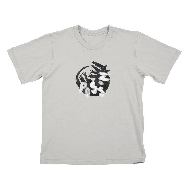 Possum by Kate Burns  Kids T-shirt by Possum's Artist Shop