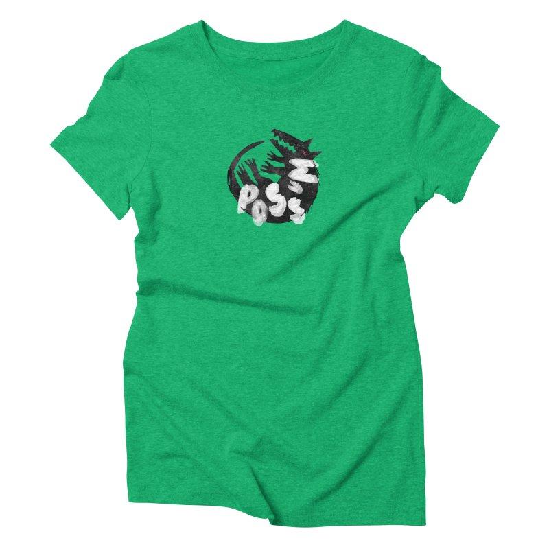 Possum by Kate Burns  Women's Triblend T-Shirt by Possum's Artist Shop