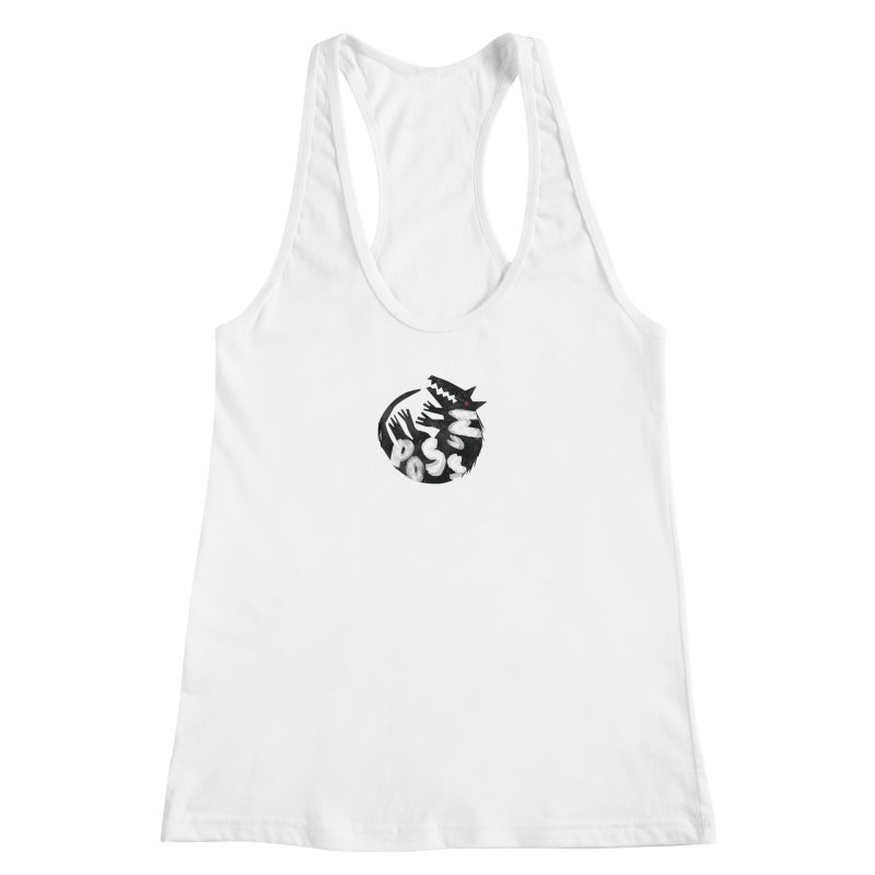 Possum by Kate Burns  Women's Racerback Tank by Possum's Artist Shop