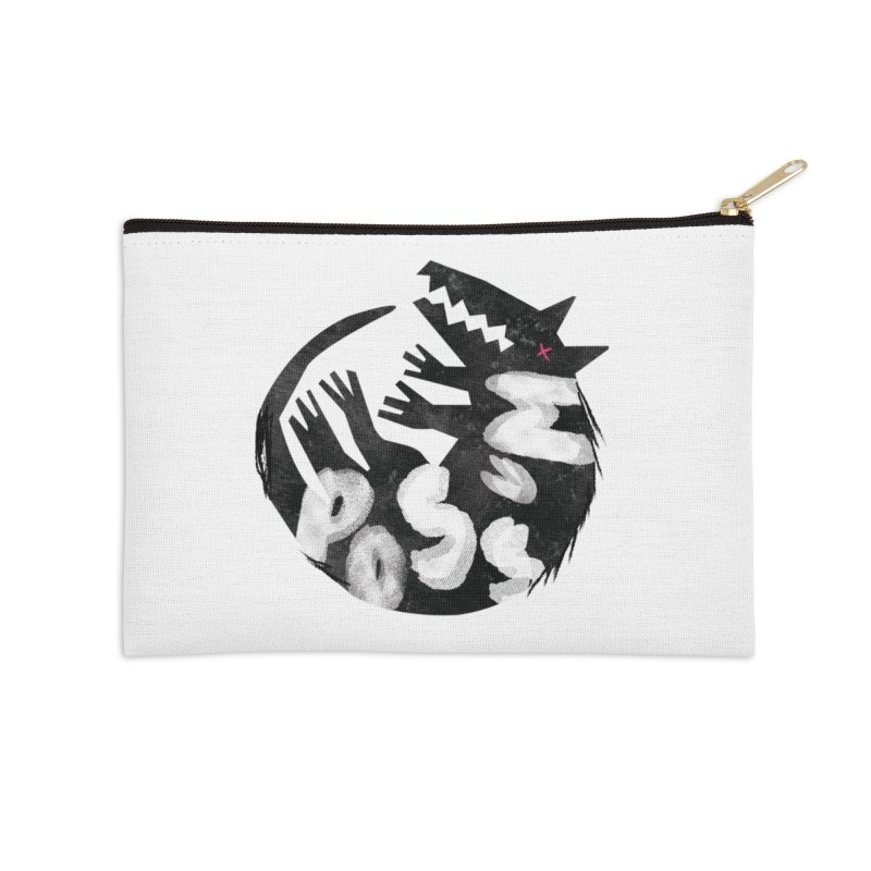 Possum by Kate Burns  Accessories Zip Pouch by Possum's Artist Shop