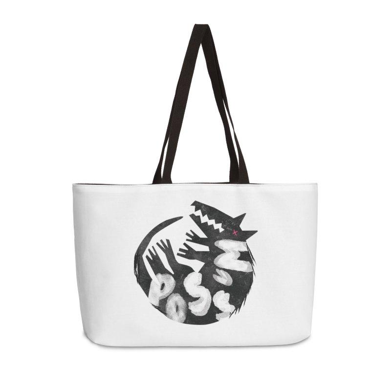 Possum by Kate Burns  in Weekender Bag by Possum's Artist Shop