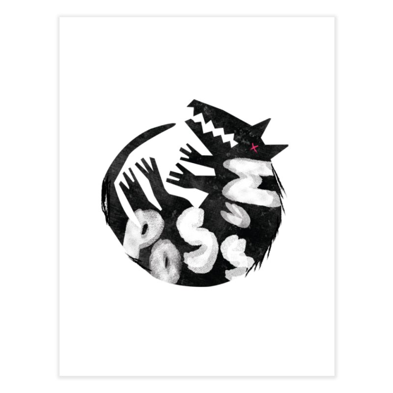 Possum by Kate Burns  Home Fine Art Print by Possum's Artist Shop