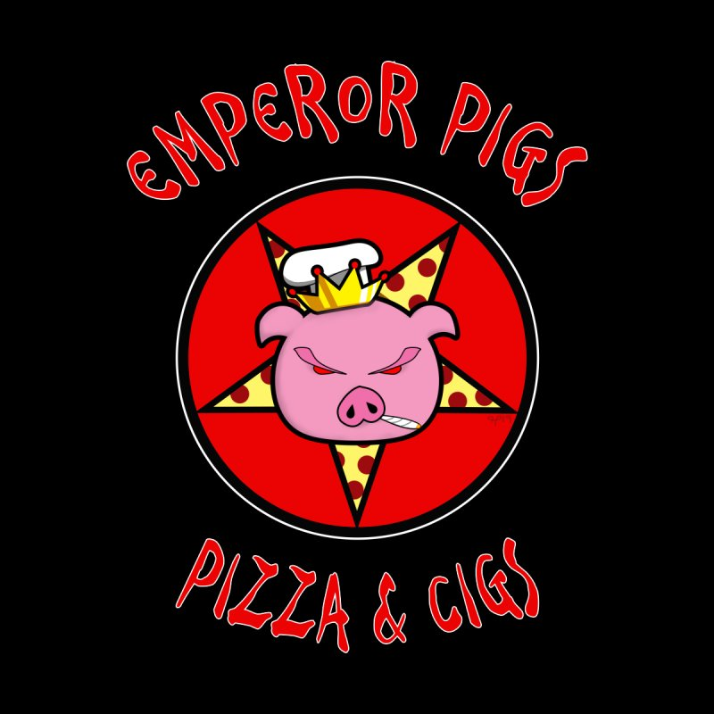 Emperor Pigs (Pizza & Cigs) by Postal Roach Merch Store
