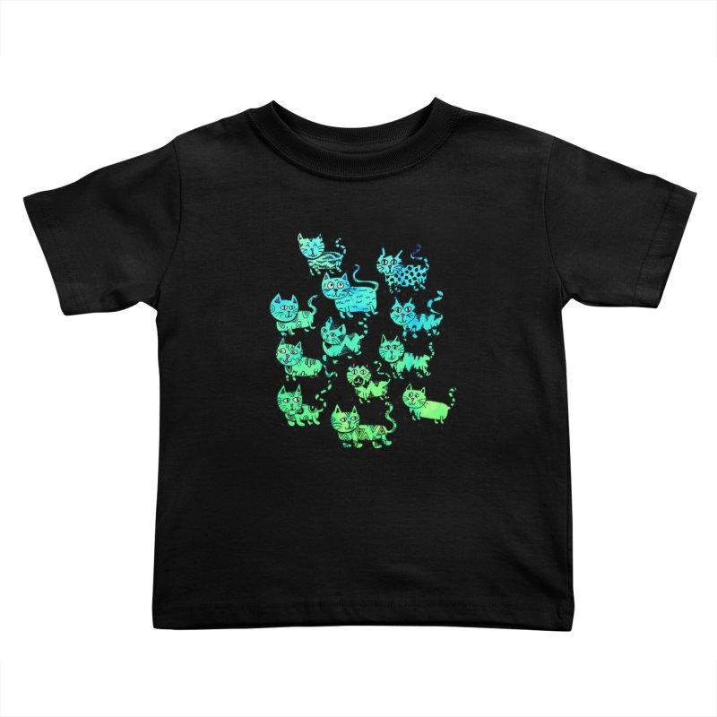 Catwater Kids Toddler T-Shirt by PRINTMEGGIN